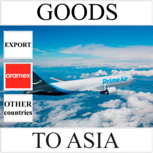 Delivery of goods up to 1 kg to Asia from Ukraine (other countries) by Aramex