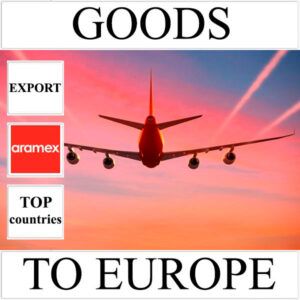 Delivery of goods up to 1 kg to Europe from Ukraine (top countries) by Aramex