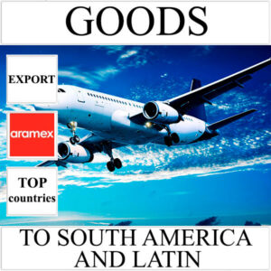 Delivery of goods up to 1 kg to South America and Latin from Ukraine by Aramex