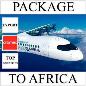 Delivery of package up to 2 kg to Africa from Ukraine (top countries) by Aramex