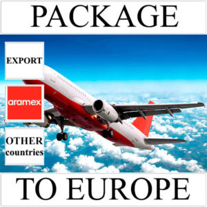 Delivery of package up to 2 kg to Europe from Ukraine (other countries) by Aramex
