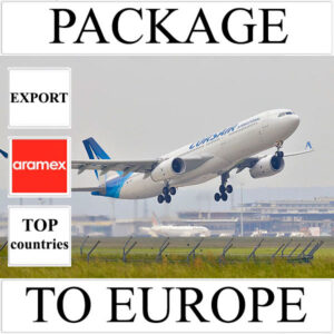 Delivery of package up to 2 kg to Europe from Ukraine (top countries) by Aramex