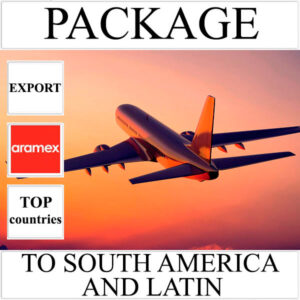 Delivery of package up to 2 kg to South America and Latin from Ukraine by Aramex