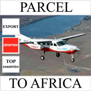 Delivery of parcel up to 5 kg to Africa from Ukraine (top countries) by Aramex