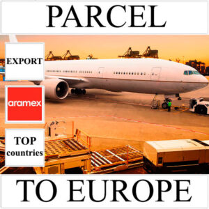Delivery of parcel up to 5 kg to Europe from Ukraine (top countries) by Aramex