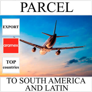 Delivery of parcel up to 5 kg to South America and Latin from Ukraine by Aramex