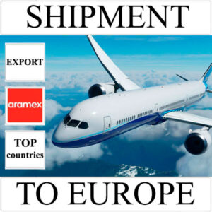Delivery of shipment up to 0.5 kg to Europe from Ukraine (top countries) by Aramex