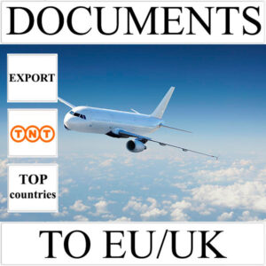 Delivery of documents up to 0.5 kg to EU/UK from Ukraine (top countries) by TNT
