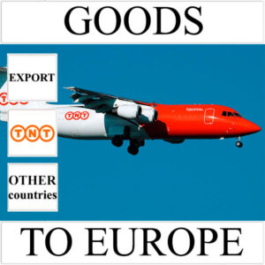 Delivery of goods up to 1 kg to Europe from Ukraine (other countries) by TNT
