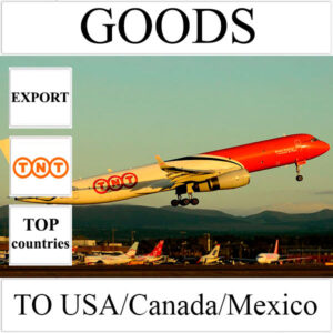 Delivery of goods up to 1 kg to USA/Canada/Mexico from Ukraine by TNT