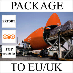 Delivery of package up to 2 kg to EU/UK from Ukraine (top countries) by TNT