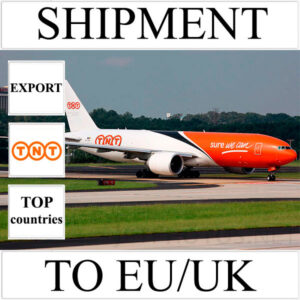 Delivery of shipment up to 0.5 kg to EU/UK from Ukraine (top countries) by TNT