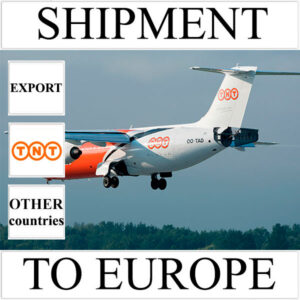 Delivery of shipment up to 0.5 kg to Europe from Ukraine (other countries) by TNT