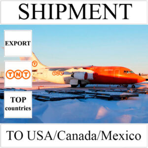 Delivery of shipment up to 0.5 kg to USA/Canada/Mexico from Ukraine by TNT