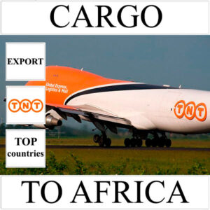 Delivery of cargo up to 10 kg to Africa from Ukraine by TNT