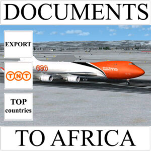 Delivery of documents up to 0.5 kg to Africa from Ukraine by TNT
