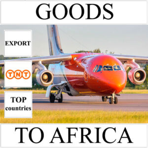 Delivery of goods up to 1 kg to Africa from Ukraine by TNT