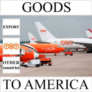 Delivery of goods up to 1 kg to America from Ukraine (other countries) by TNT