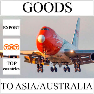Delivery of goods up to 1 kg to Asia/Australia from Ukraine by TNT