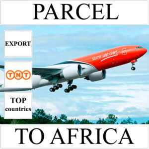 Delivery of parcel up to 5 kg to Africa from Ukraine by TNT