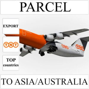 Delivery of parcel up to 5 kg to Asia/Australia from Ukraine by TNT
