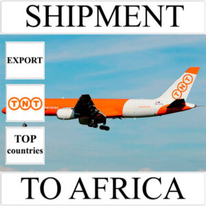 Delivery of shipment up to 0.5 kg to Africa from Ukraine by TNT