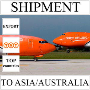 Delivery of shipment up to 0.5 kg to Asia/Australia from Ukraine by TNT